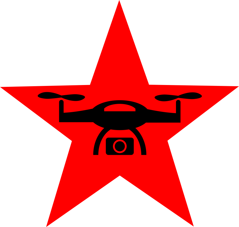 Red Star Aerial Photography Logo