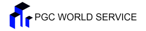 PGC WORLD SERVICE Logo