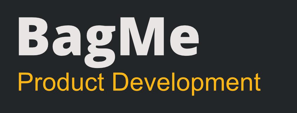 BagMe Product Development  Logo
