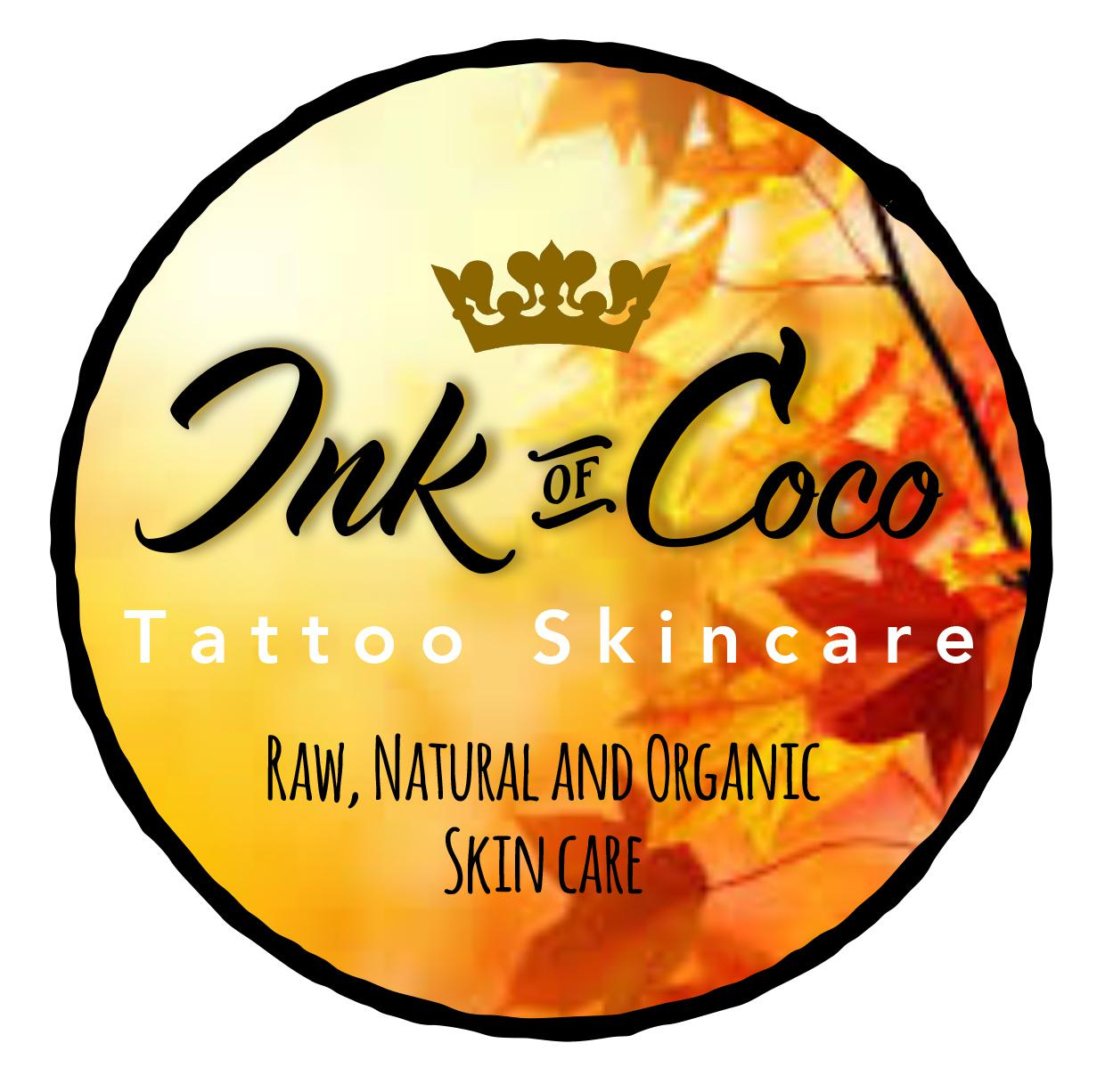 Ink of Coco Tattoo Skincare Logo