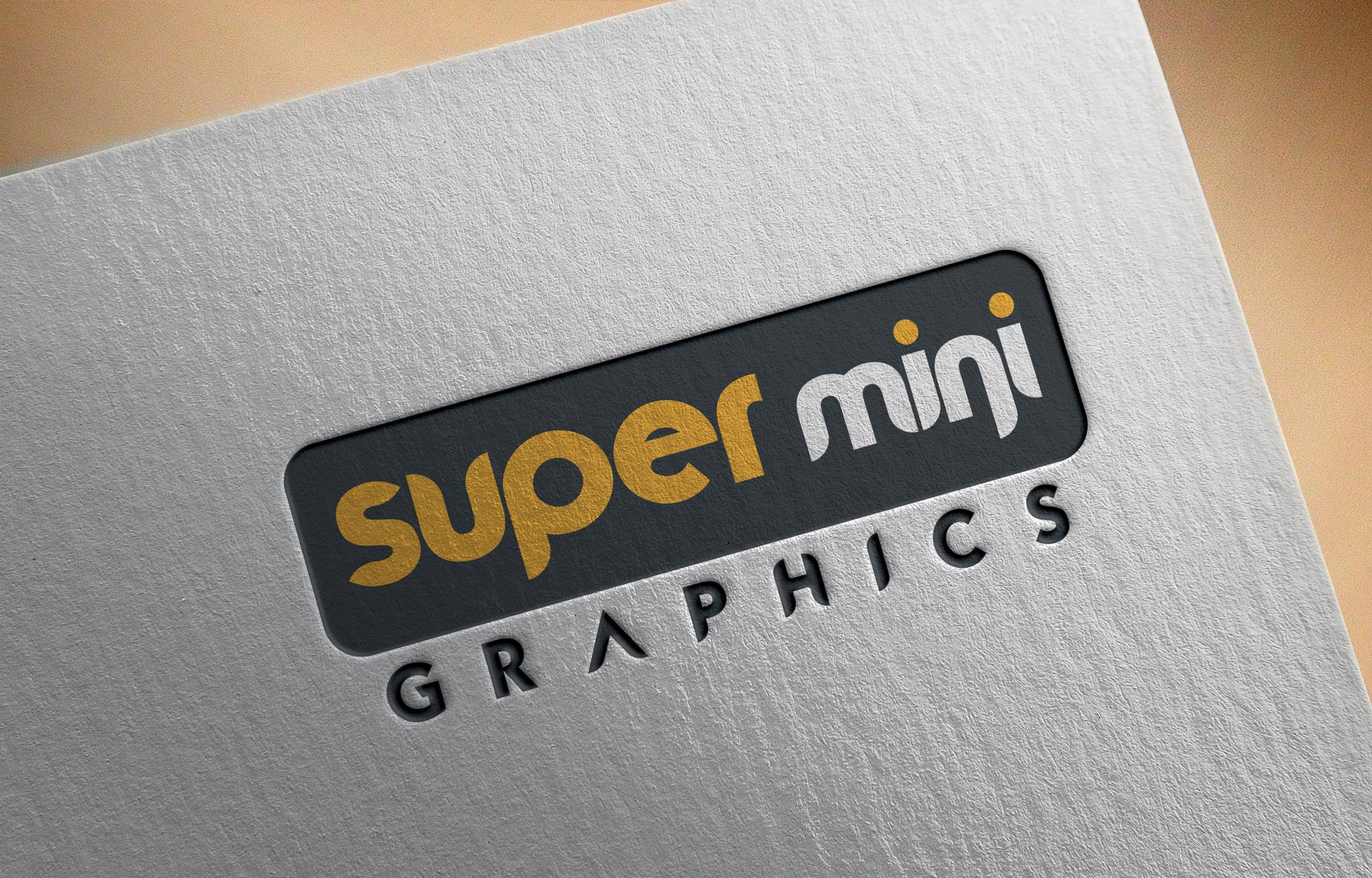 Super mini graphics Logo