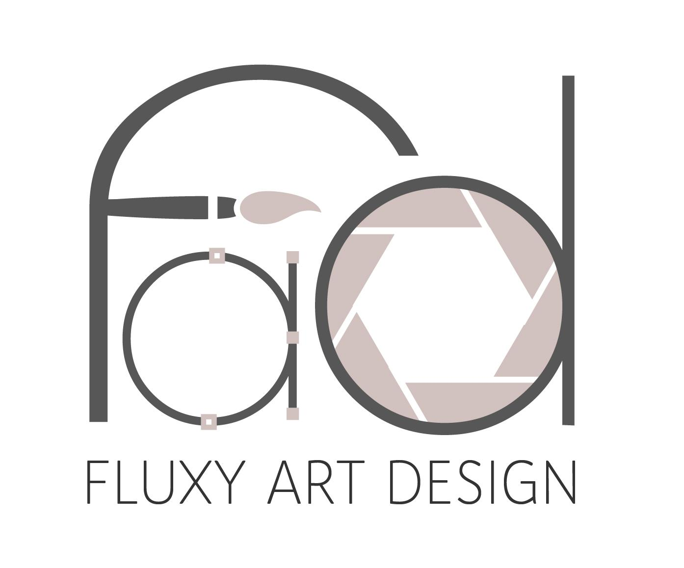 Fluxy Art Design Logo
