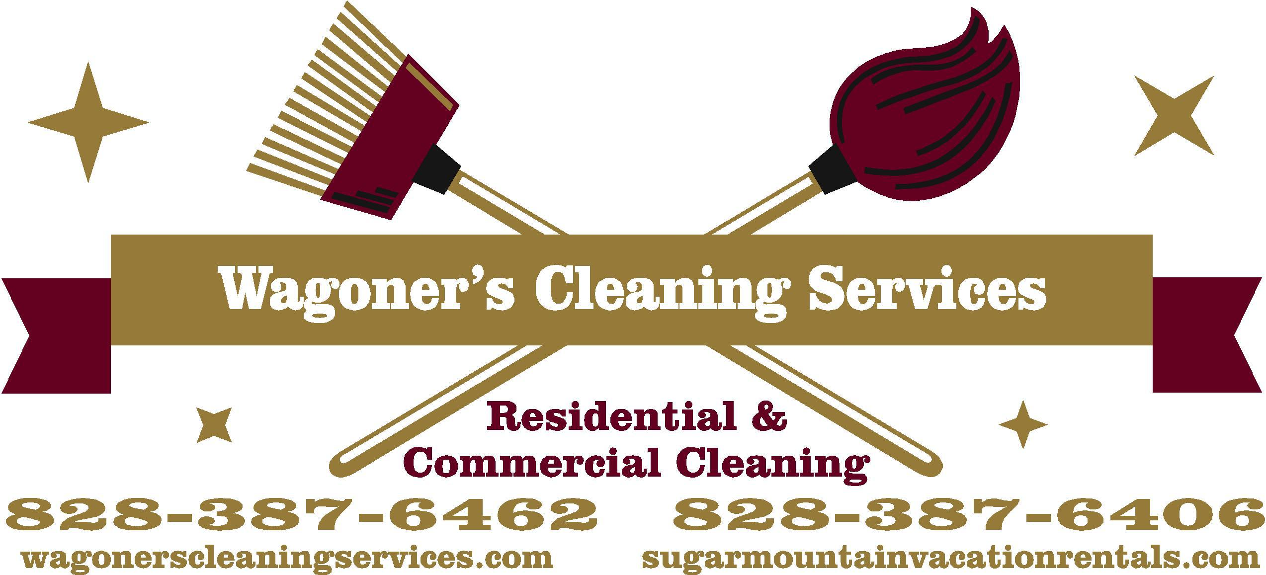 Wagoner's Cleaning Services LLC. Logo