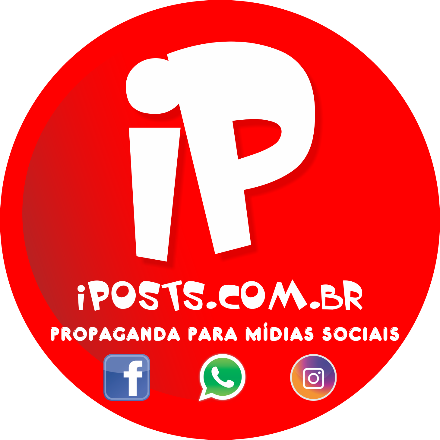 Iposts Agência e Marketing Digital Logo