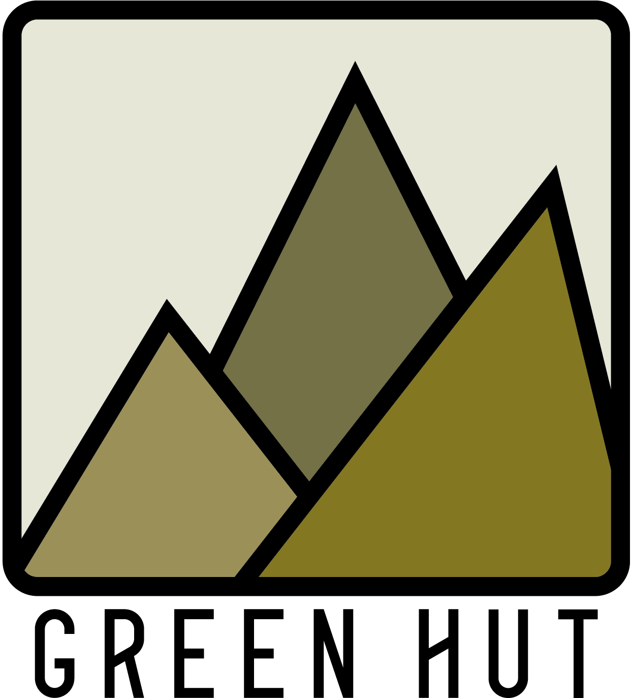 Green Hut CBD Logo