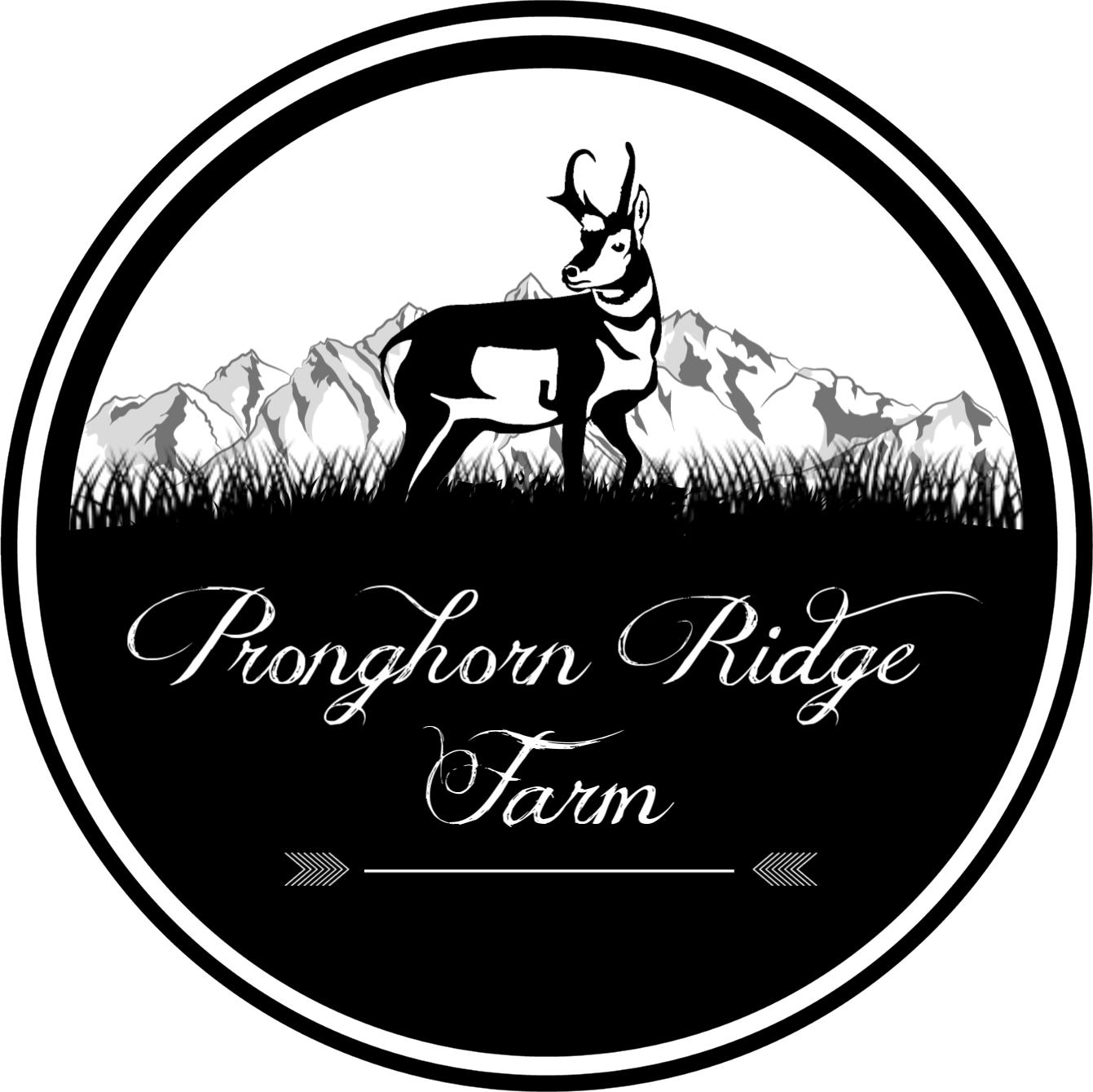 Pronghorn Ridge Farm Logo