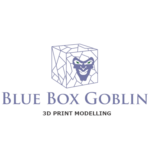 Blue Box Goblin Logo