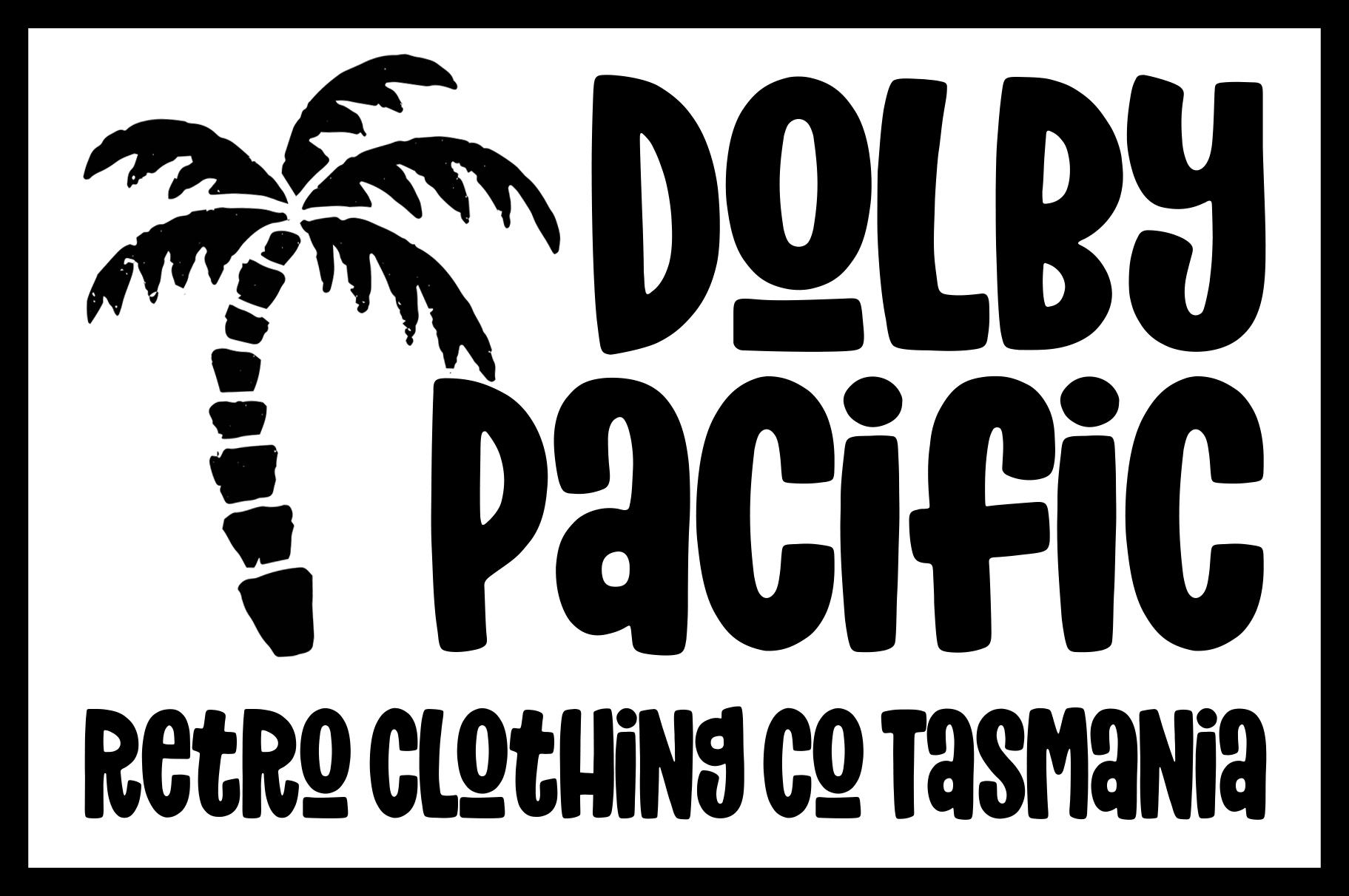 Dolby Pacific Retro Clothing Co Logo
