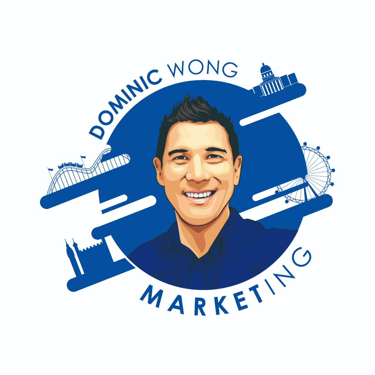 Dominic Wong Marketing Logo