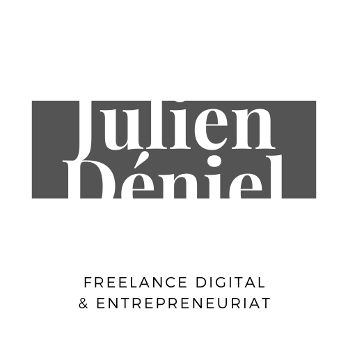 Julien Déniel - Freelance en Digital Logo