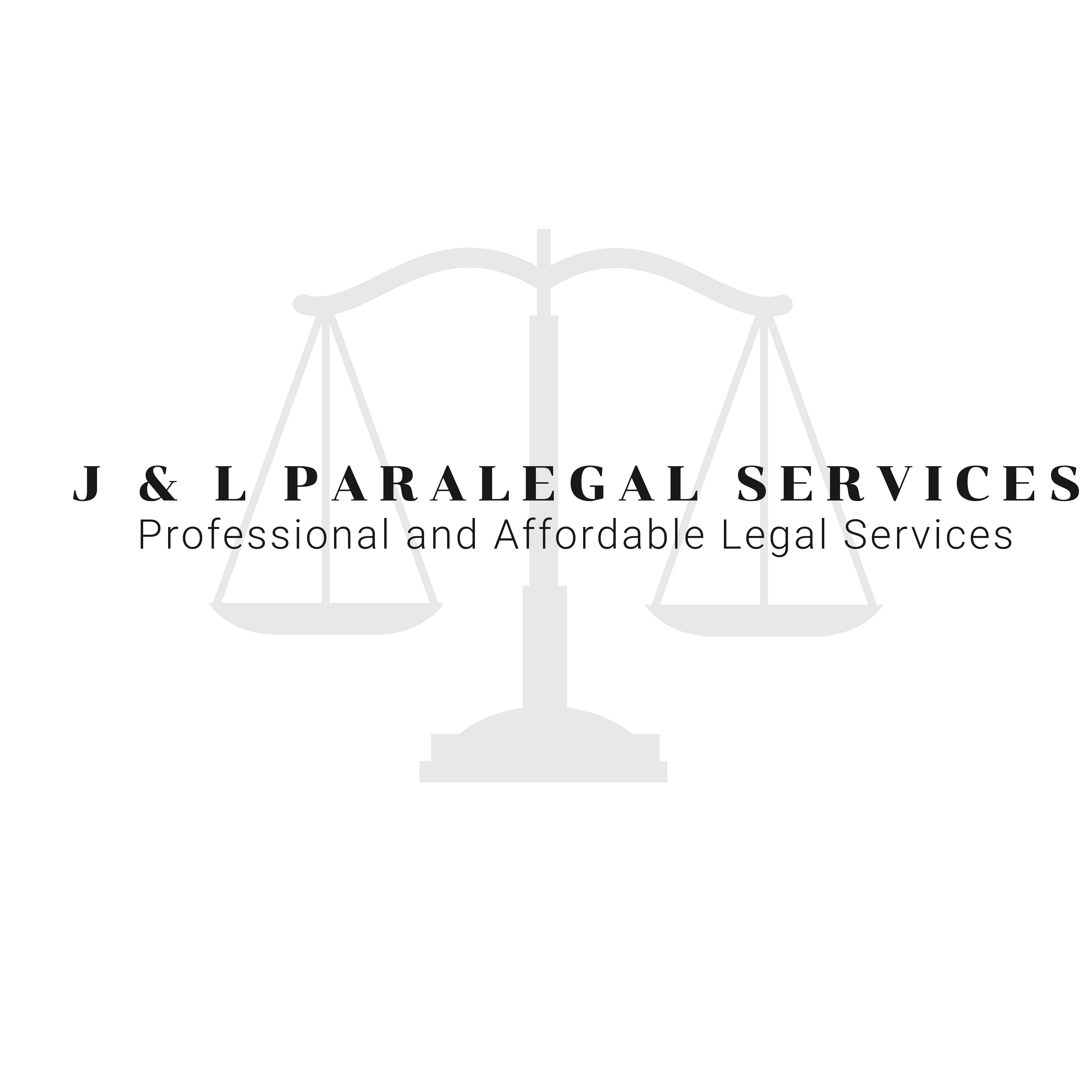 J & L Paralegal Services Logo