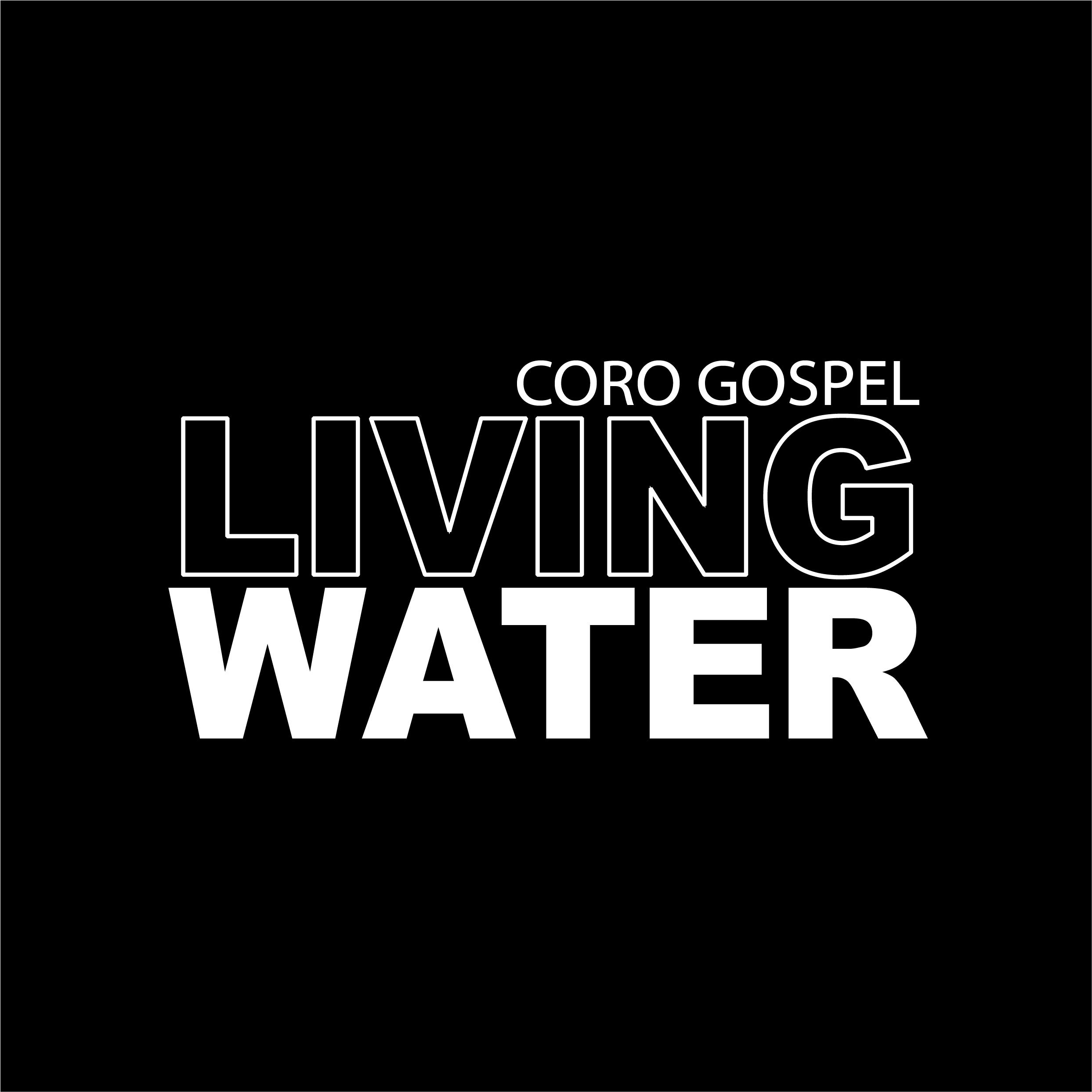 Coro Gospel Living Water Logo