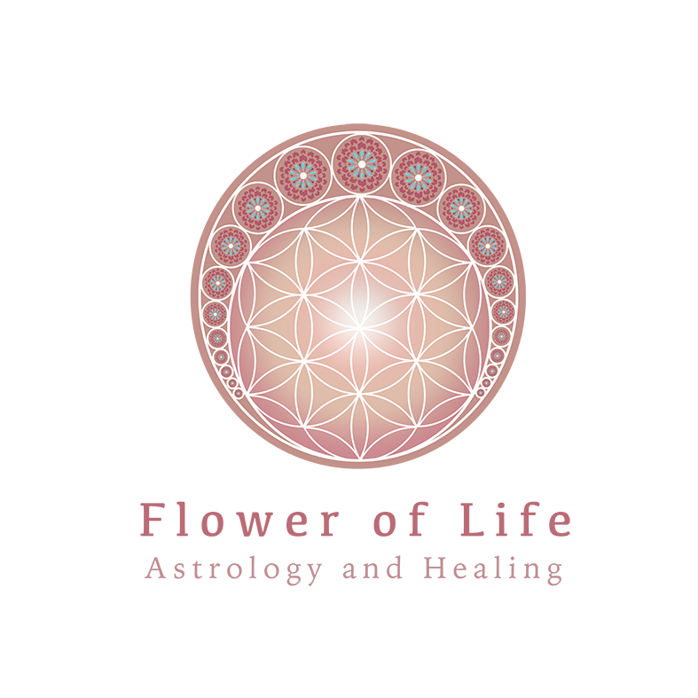 Flower of Life Astrology and Healing Logo