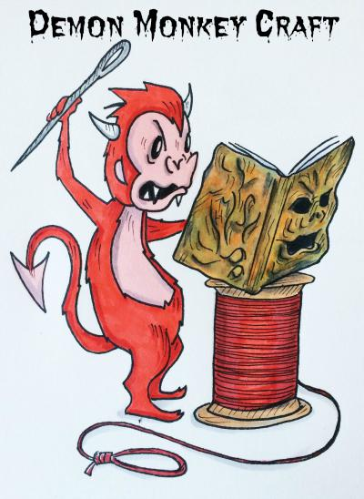 Demon Monkey Craft, LLC. Logo