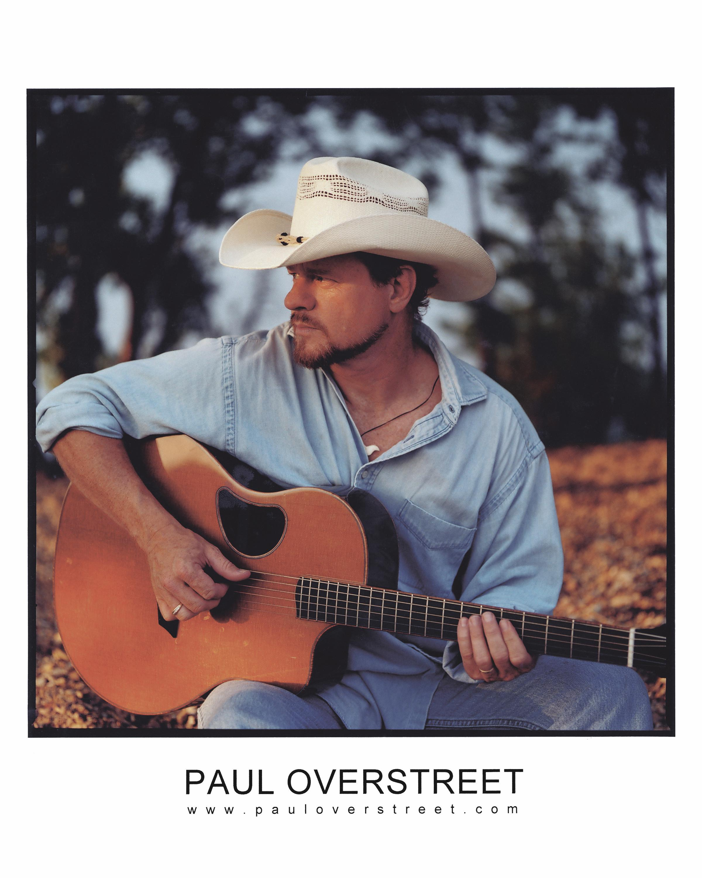 Paul Overstreet Music Logo