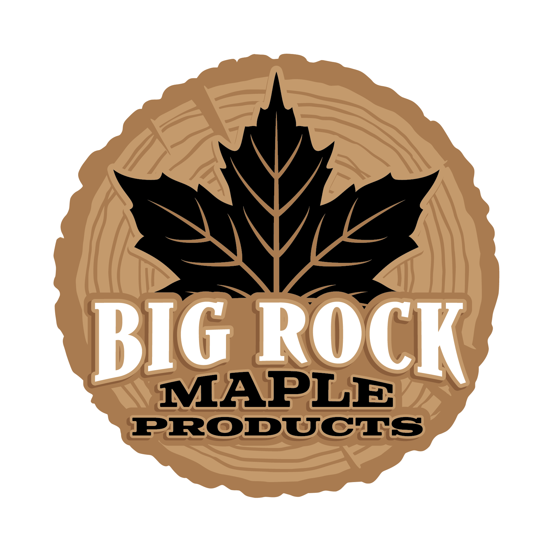 Big Rock Maple Products Logo