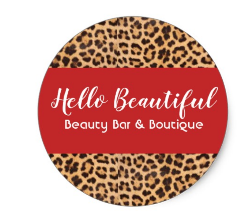 Hello Beautiful Beauty Bar & Boutique  Logo