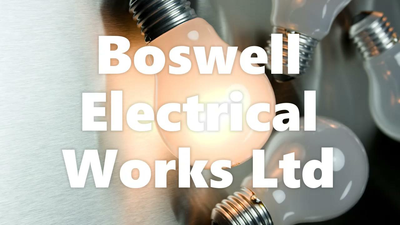 Boswell Electrical Works Logo