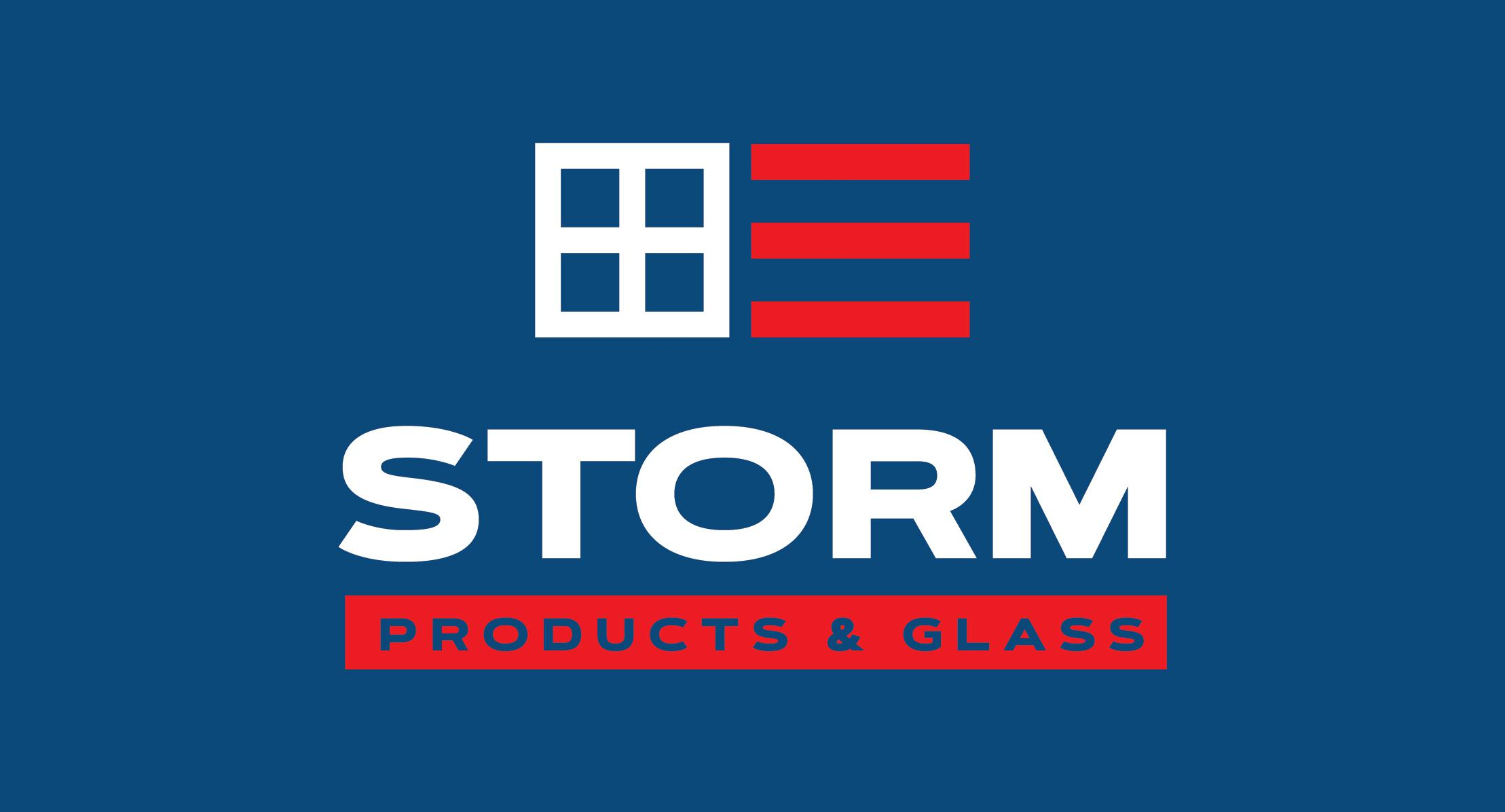 Strom Products And Glass Logo