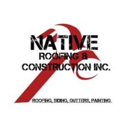 Native Roofing and Construction Logo
