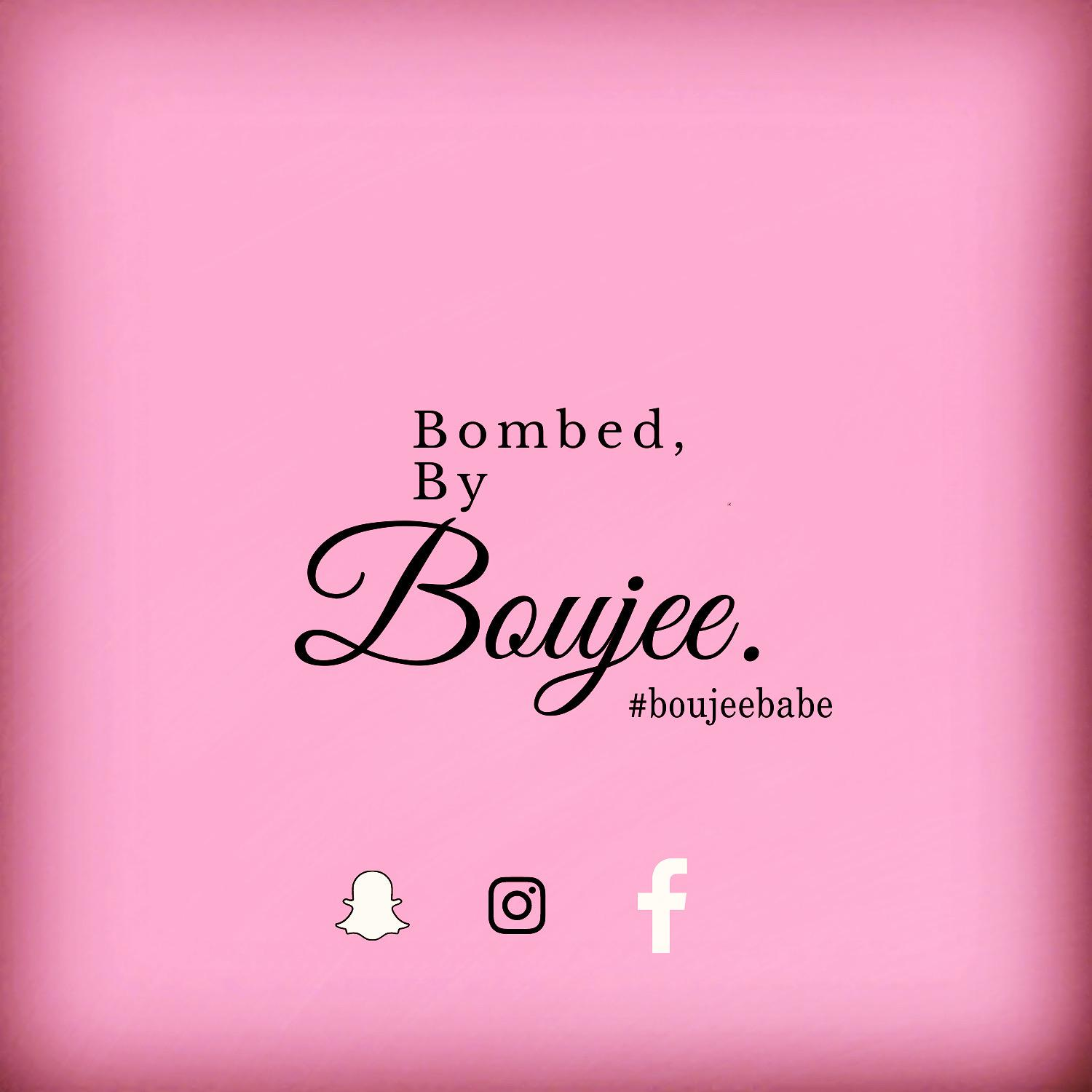 Bombed by Boujee Boutique Logo