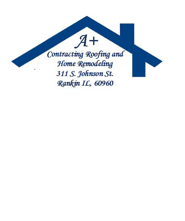 A+ Contracting Roofing and Home Remodeling Logo