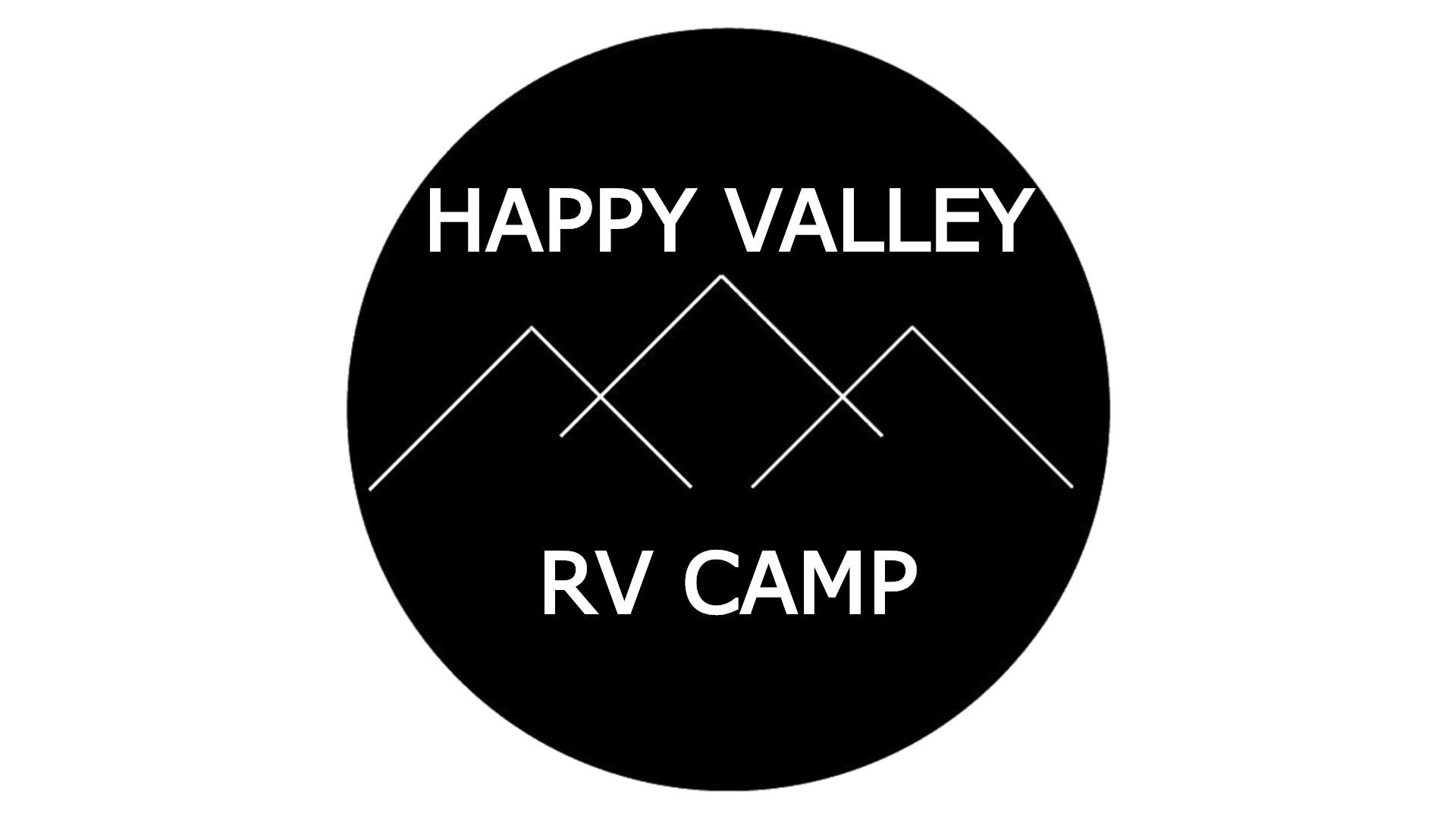 Happy Valley RV Camp Logo