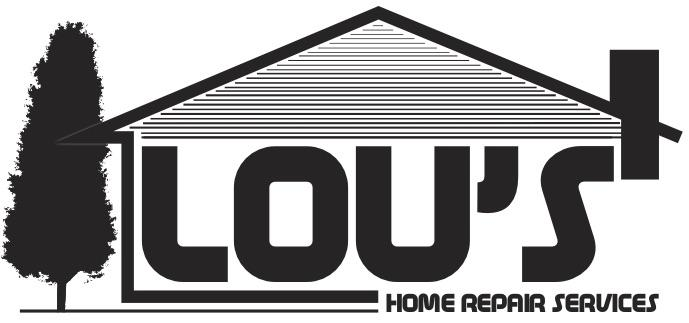Lou's Home Repair Logo