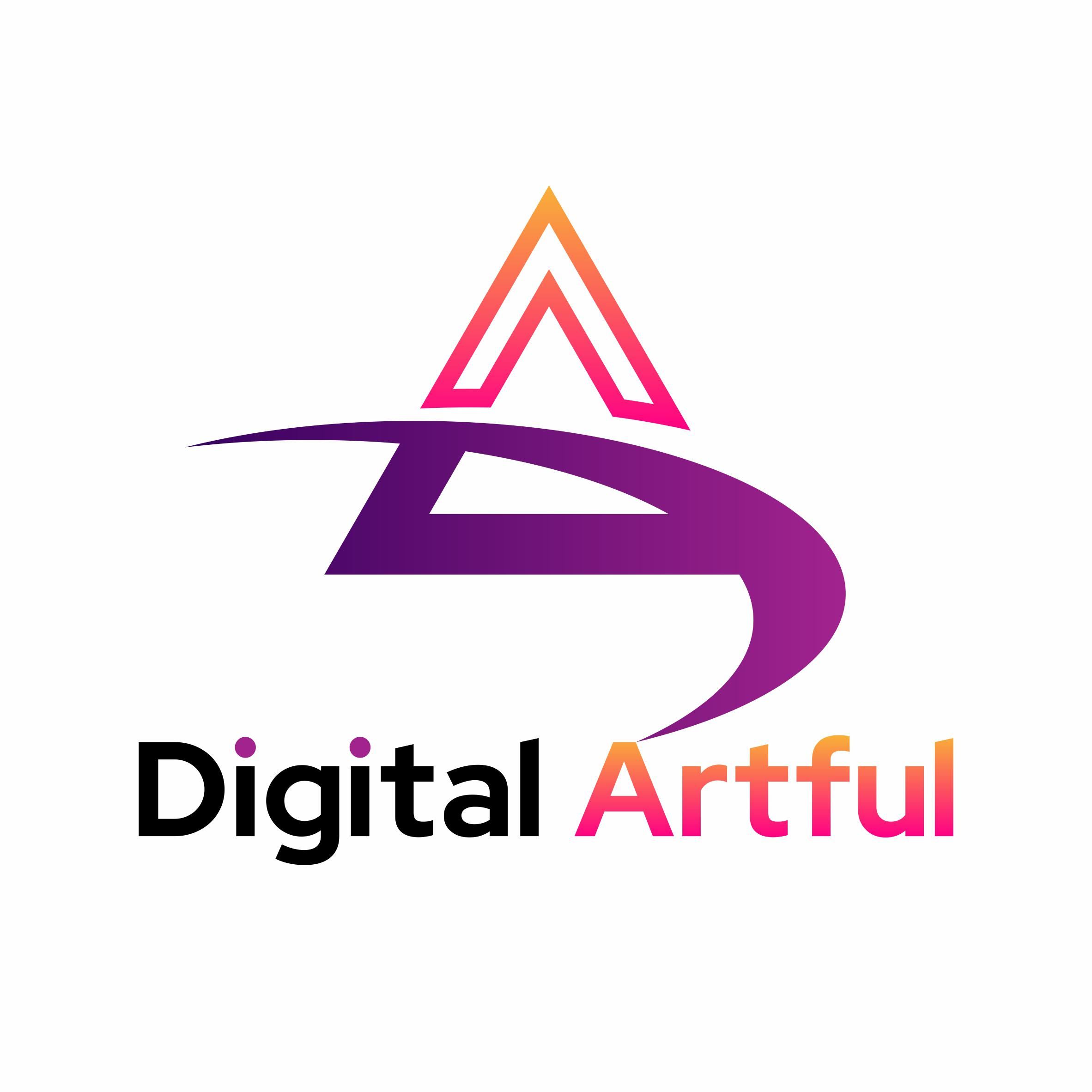 Digital artful Logo