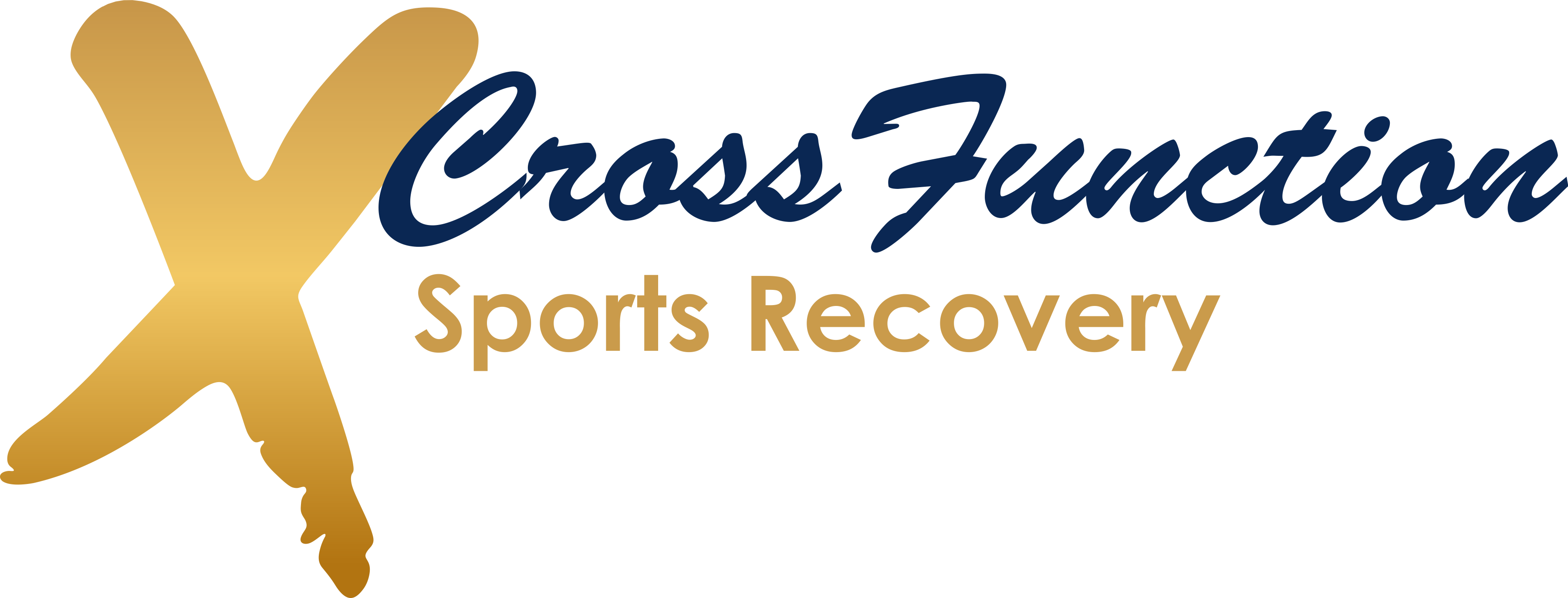 CrossFunction Sports Recovery Logo