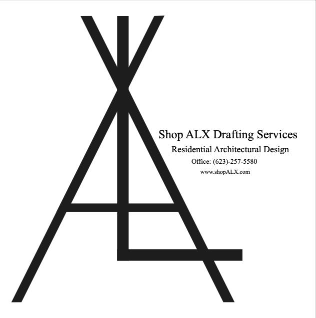 Shop ALX Residential Drafting Service Logo