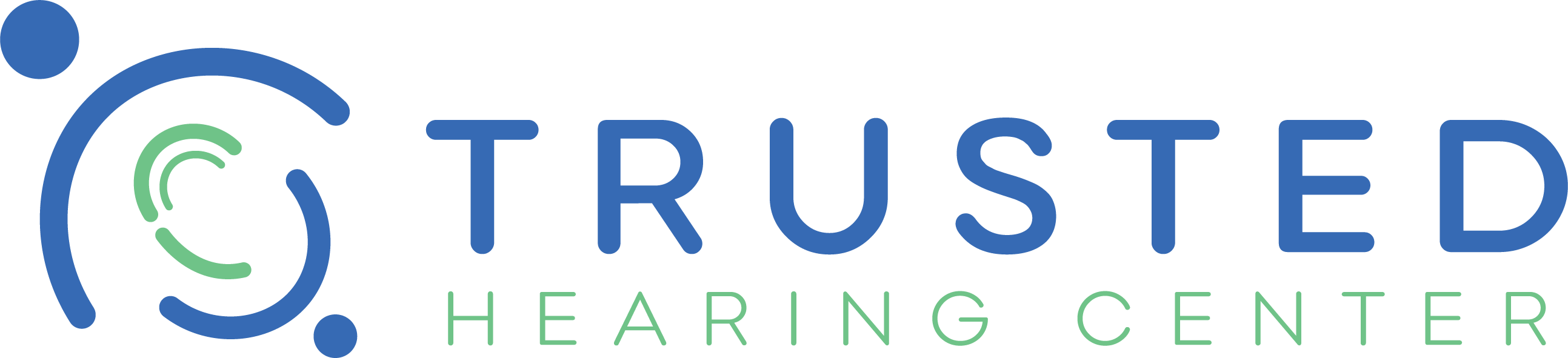Trusted Hearing Center Logo