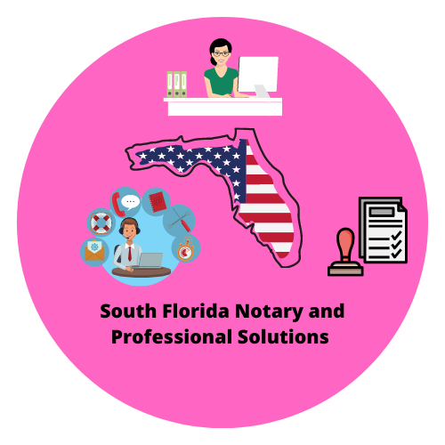 South Florida Notary and Professional Solutions Logo