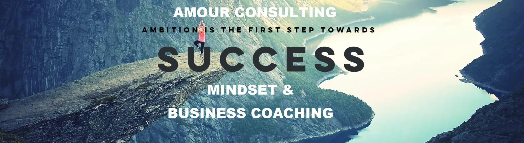 Amour Consulting - Mindset & Business Coaching Logo