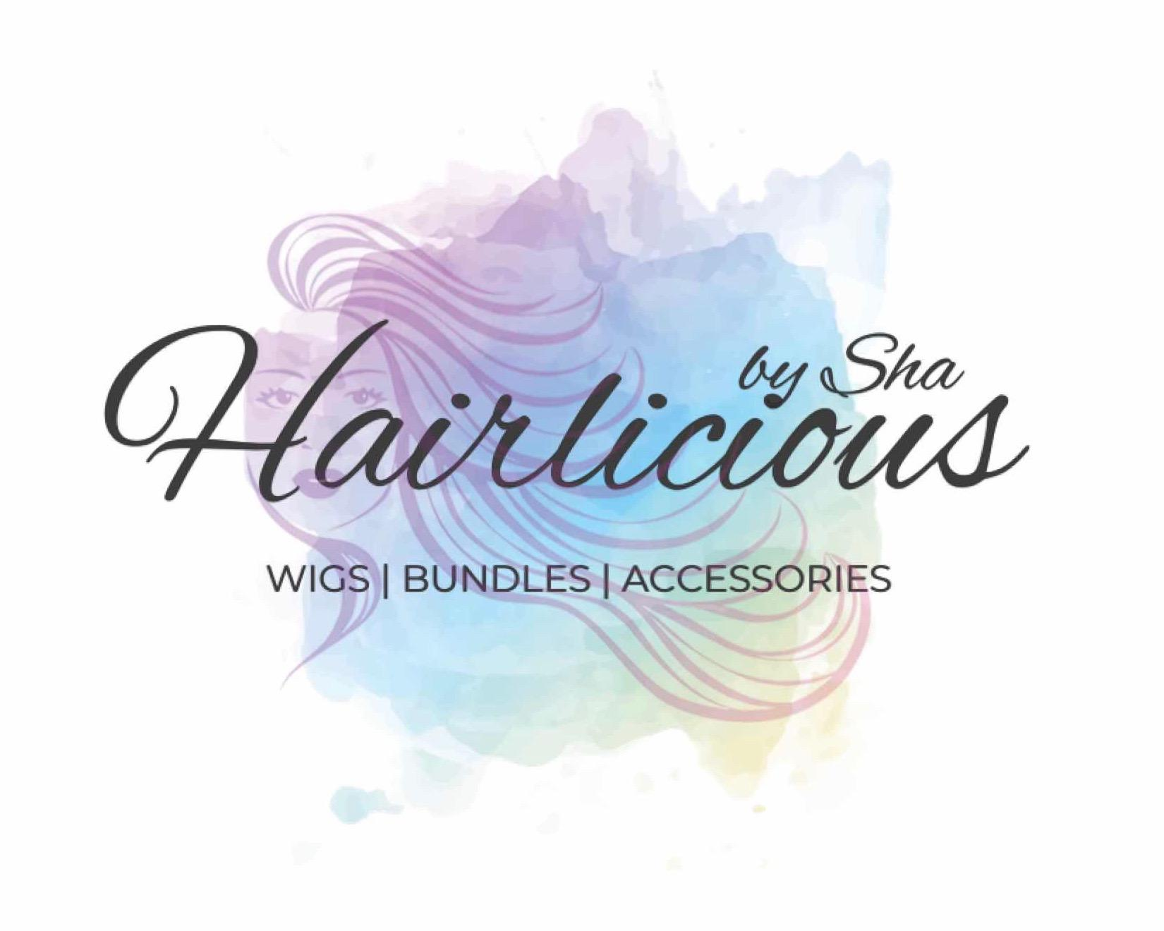 Hairlicious By Sha Logo