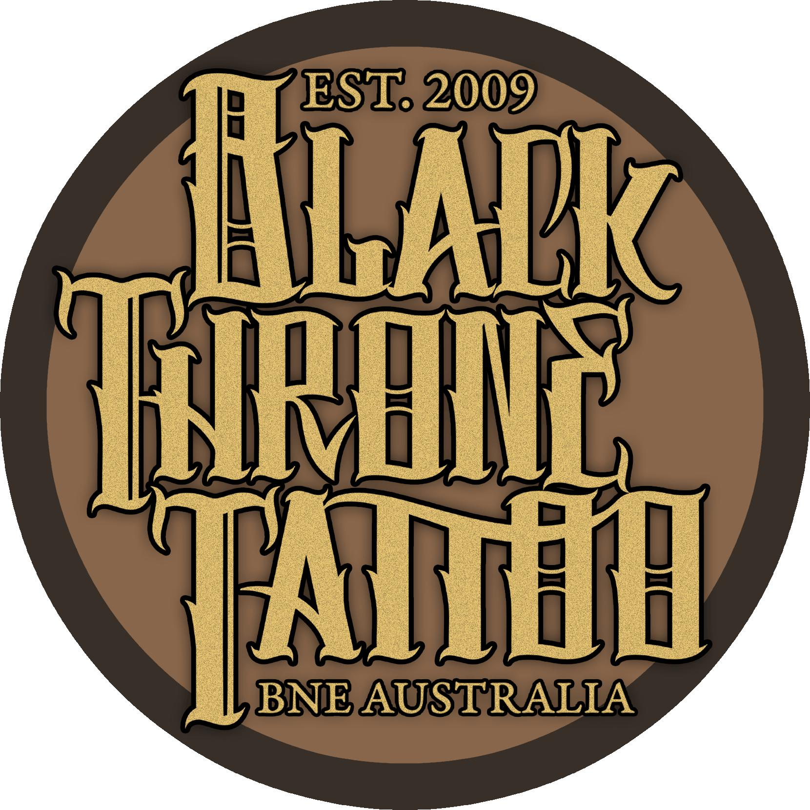 Black Throne Tattoo Logo