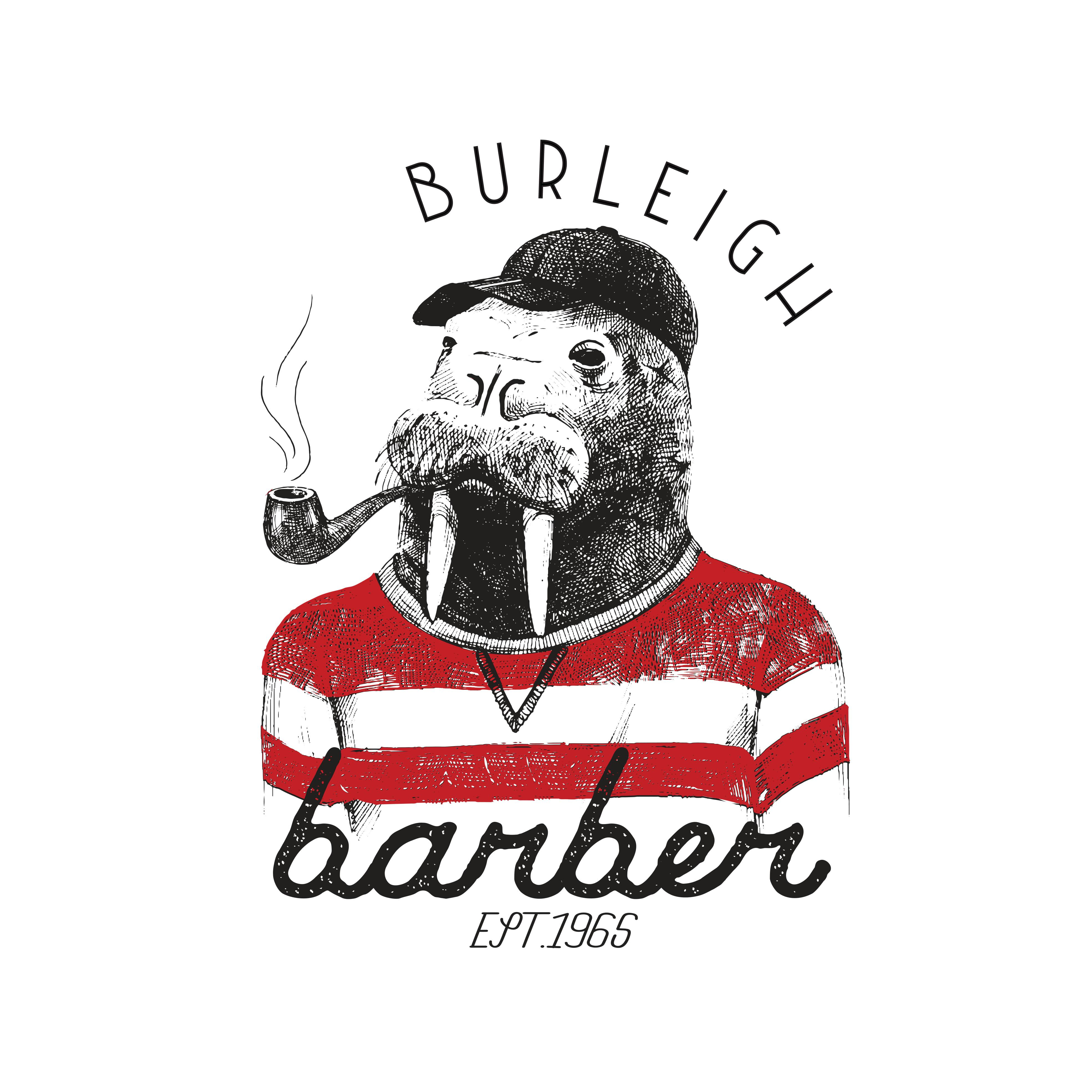 Burleigh Barber Shop Logo