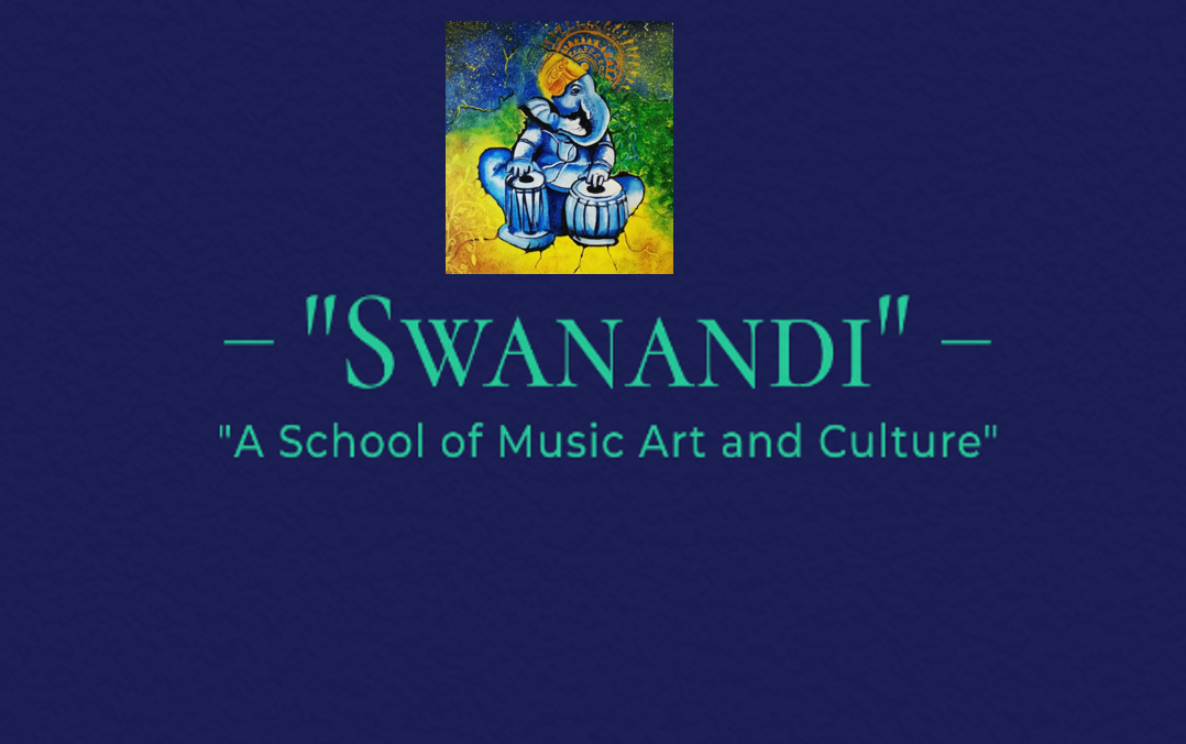 """Swanandi"" A School Indian Classical Music Logo"