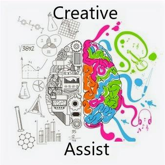 Creative Assist: A Working Person's Dream Logo