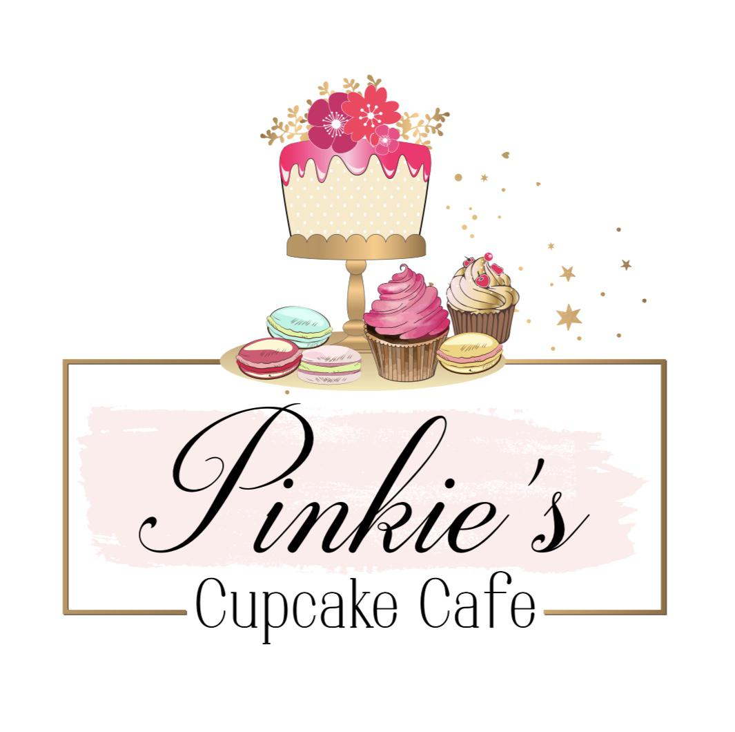 Pinkies Cupcake Cafe Logo