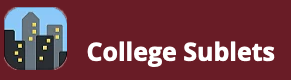 College Sublets Logo