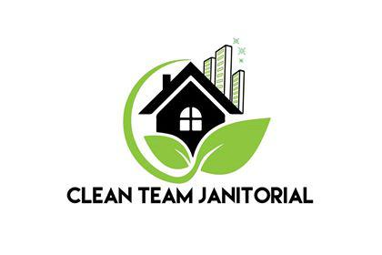 Clean Team Janitorial Service Logo