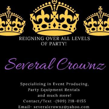 Several Crownz, Event Production Logo