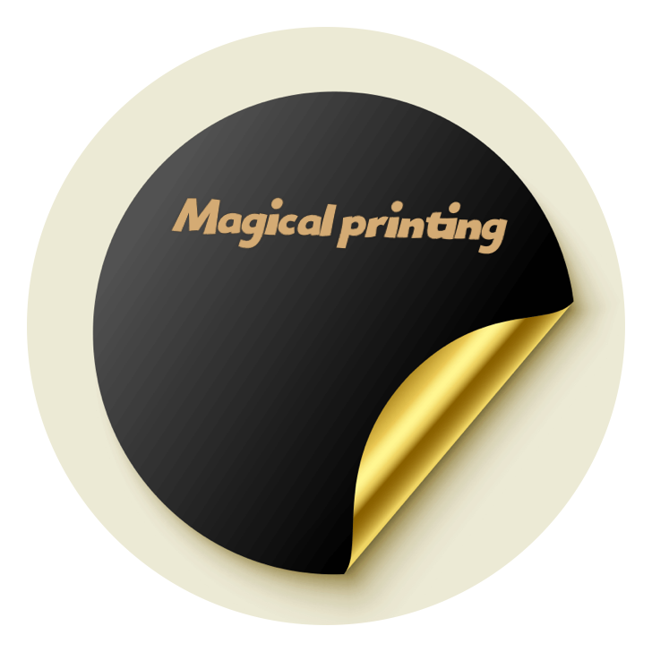 magical printing  Logo