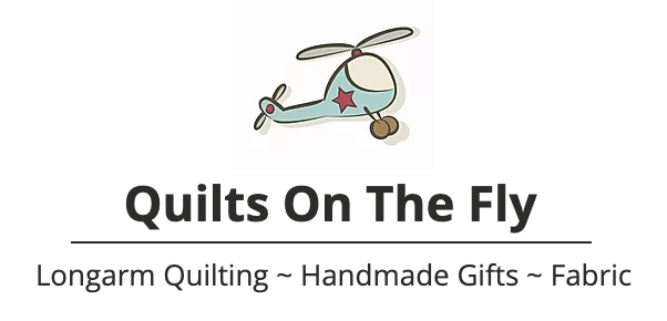 Quilts On The Fly Logo