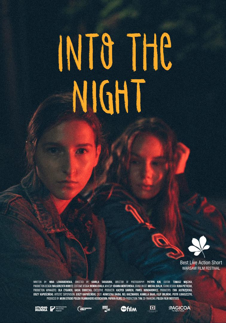 Chodźmy w noc / Into the night Logo