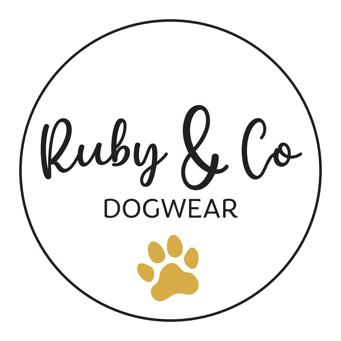 Ruby & Co Dogwear Logo
