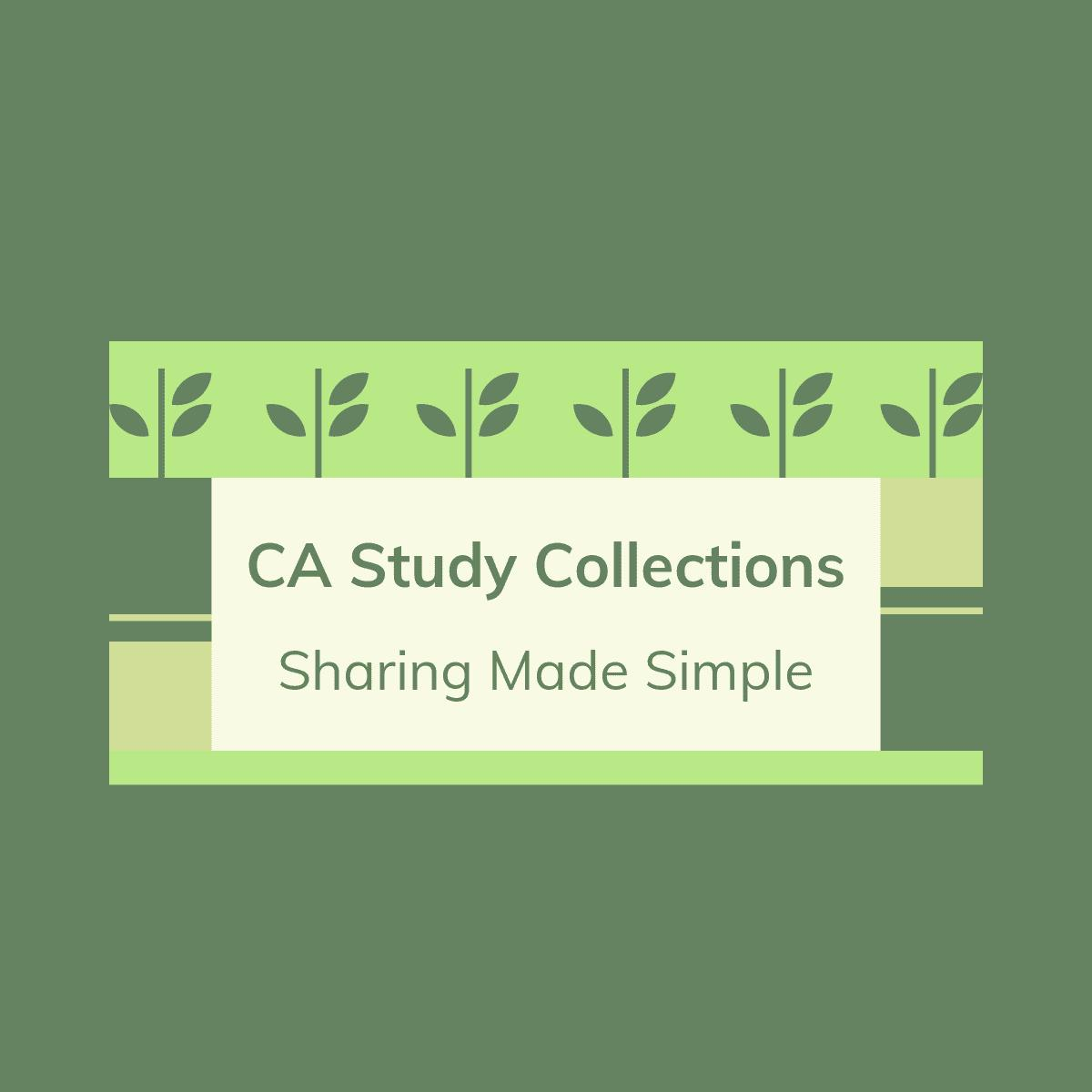 CA Study collections Logo