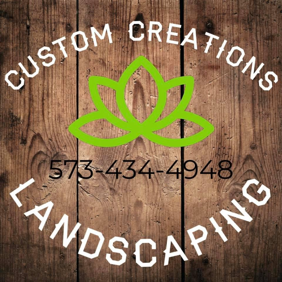 J&M Custom Creations Landscaping Logo