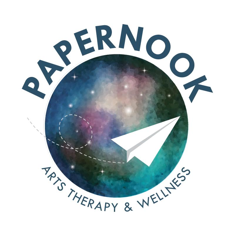 Papernook Arts Therapy & Wellness Logo